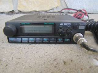HAM RADIO ALINCO DR 1200T Data Radio Mint Condition w/ Mic and Cables