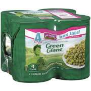 Green Giant Young Tender Sweet Peas, 15 oz, 4ct