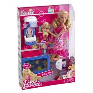 Mattel Barbie I Can Be Baby Caregiver Doll Playset