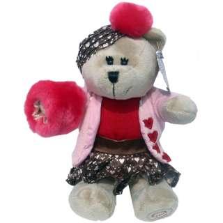2011 Starbucks Valentine Bearista Bear New