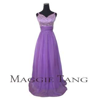 Pageant Quinceanera Evening Wedding Ball Prom Party Dress Gown