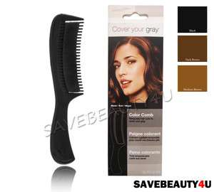 IRENE GARI COVER YOUR GRAY HAIR COLOR COMB 3 COLORS
