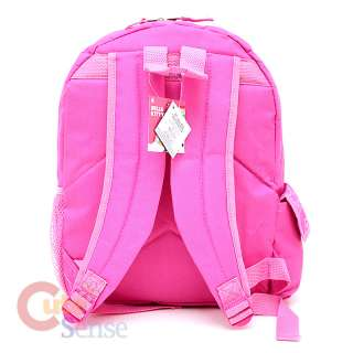 Sanrio Hello Kitty Large School Backpack Bag Pink Giltering Face 4