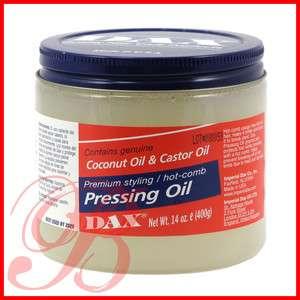 DAX Coconut & Castor Oil Hot Comb Pressing Oil 14 oz