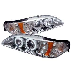 1994 1998 Ford Mustang SR Chrome CCFL LED Projector