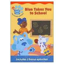 Blues Clues Blue Takes You To School DVD   Pbs Paramount   Toys R