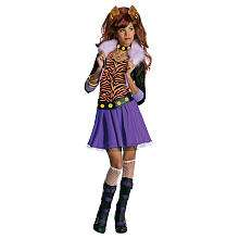Monster High Clawdeen Wolf Halloween Costume   Child Size Small