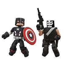 Marvel Minimates Wave 10 Action Figures   Secret War Captain America