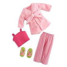 Journey Girls 18 inch Doll Clothes   Pink PJs and Robe   Toys R Us