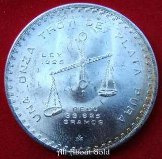 Mexico 1980 SILVER COIN 1 oz SCALE LIBERTAD GREAT INVESTMENT Treasure