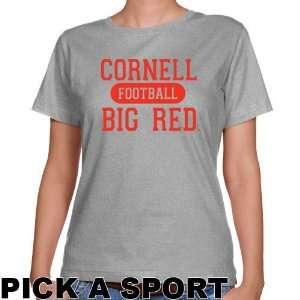 Cornell Big Red Ladies Ash Custom Sport Classic Fit T