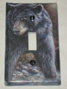Mossy Oak Camo/Bear/Deer/Moose Light Switch Plate Cover Hunting Lodge
