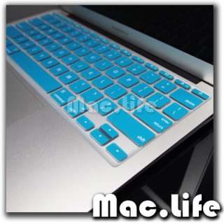 AQUA BLUE Silicone Keyboard Cover for Macbook Air 11