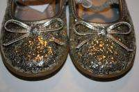 Circo gold glitter shoes size 7 8 10 11 12 new sparkle