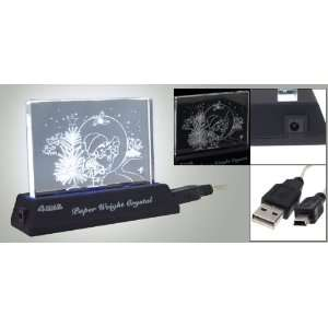 Gino PC Laptop 4 Port LED Light High Speed USB 2.0 HUB Electronics