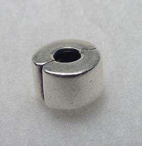 Authentic Pandora 925 ALE Sterling Silver SS Bracelet Charm Bead Clip
