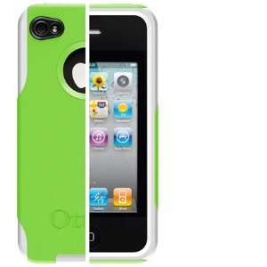 Case (Green/White) for Apple iPhone 4 Cell Phones & Accessories