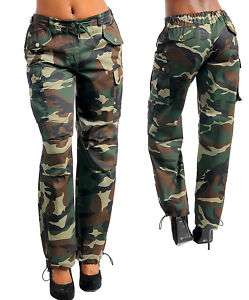 Sexy Camoflauge Army Cargo Pants