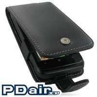 PDair Genuine Leather Flip Case for HTC 7 Trophy T8686