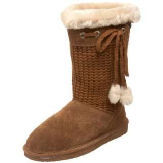 BEARPAW Womens Constance Shearling Boot Shoes