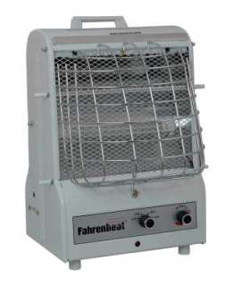QMark Fahrenheat Delux Portable Utility Heater   with extended grill