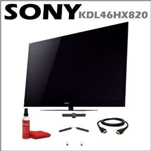 Sony BRAVIA KDL46HX820 46 Inch 1080p 3D LED HDTV with