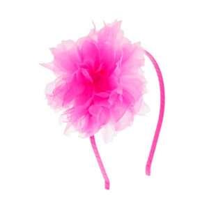 Girls organza flower headband   hair accessories   Girls jewelry