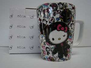 NWT Tokidoki Hello Kitty best friends SOLD OUT mug tea coffee cup
