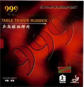 One Pair RUBBER/SPONGE TABLE TENNIS PING PONG 501