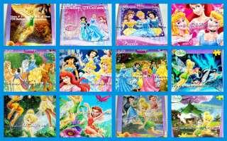 Disney Princess Tinker Bell ARIEL Cinderella Jigsaw Puzzle 100 pcs Mix