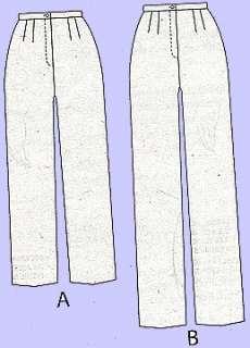 NEW Plus Size XXL 6X PantsSewing Pattern Butterick 5222 031664423652