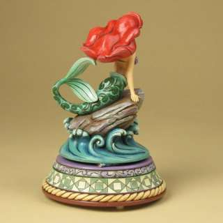 Jim Shore Disney TraditionsMusical Figurine Ariel Little Mermaid