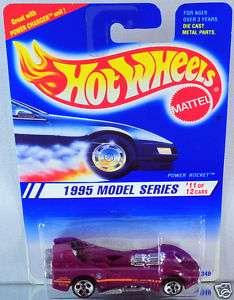 Hot Wheels Power Rocket 1995 New Models 5dot