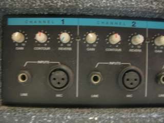 Peavey MP4 Plus Powered Mixer