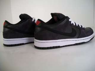 NIKE DUNK LOW PRO SB DARK CHARCOAL BLACK RED IN 5 SIZES
