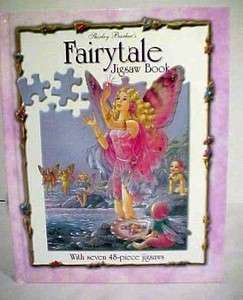 2001 Fairytale JIGSAW Puzzle Book Shirley Barber