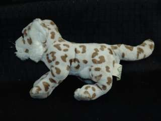 SOS Lifelike Plush Baby Snow Leopard Cub Stuffed Animal