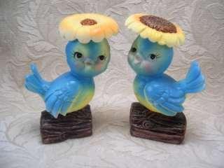 NIB VTG LEGO BLUE BIRD BLUEBIRD SALT PEPPER SHAKERS