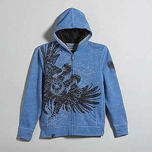 Boys 8 20 Fleece Zip Hoodie   Cristar  Top Heavy Clothing Boys Tops