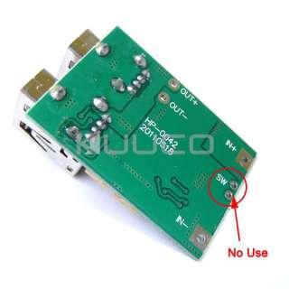 Miini DC Boost Converter 5V 3A Dual USB Output Step Up Voltage Module