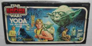 Vintage Star Wars Yoda Jedi Master Board Game