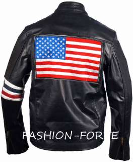 this is an reproduction of the famous biker jacket worn by peter fonda