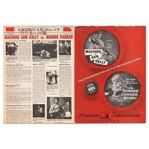 Machine Gun Kelly Original Movie Poster, 11 x 15 (1958