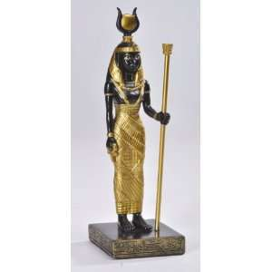 Egyptian Goddess Isis Standing Statue Figurine Home