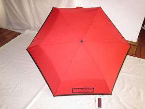 BURBERRY SMALL DESIGNER UMBRELLA RED & BLUE 100% AUHENIC BNW Rp£75