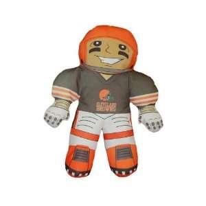 Cleveland Browns Football Player Rush Pillow