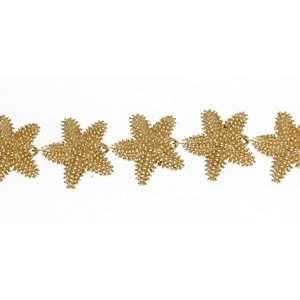 Reyes del Mar 14K Gold Large Starfish Bracelet Sports