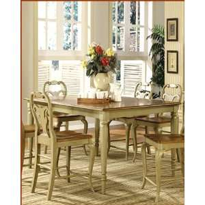 Counter Height Dining Table Driftwood WO DDT14867G: Furniture & Decor