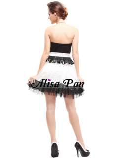 Alisa Pan Sweet Heart Neck Chic Bowtie Strapless Party Dress 03070 US