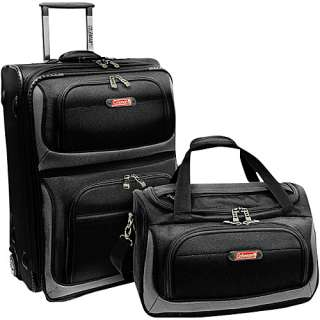 Coleman Luggage 2 Piece Lightweight Carry On Luggage